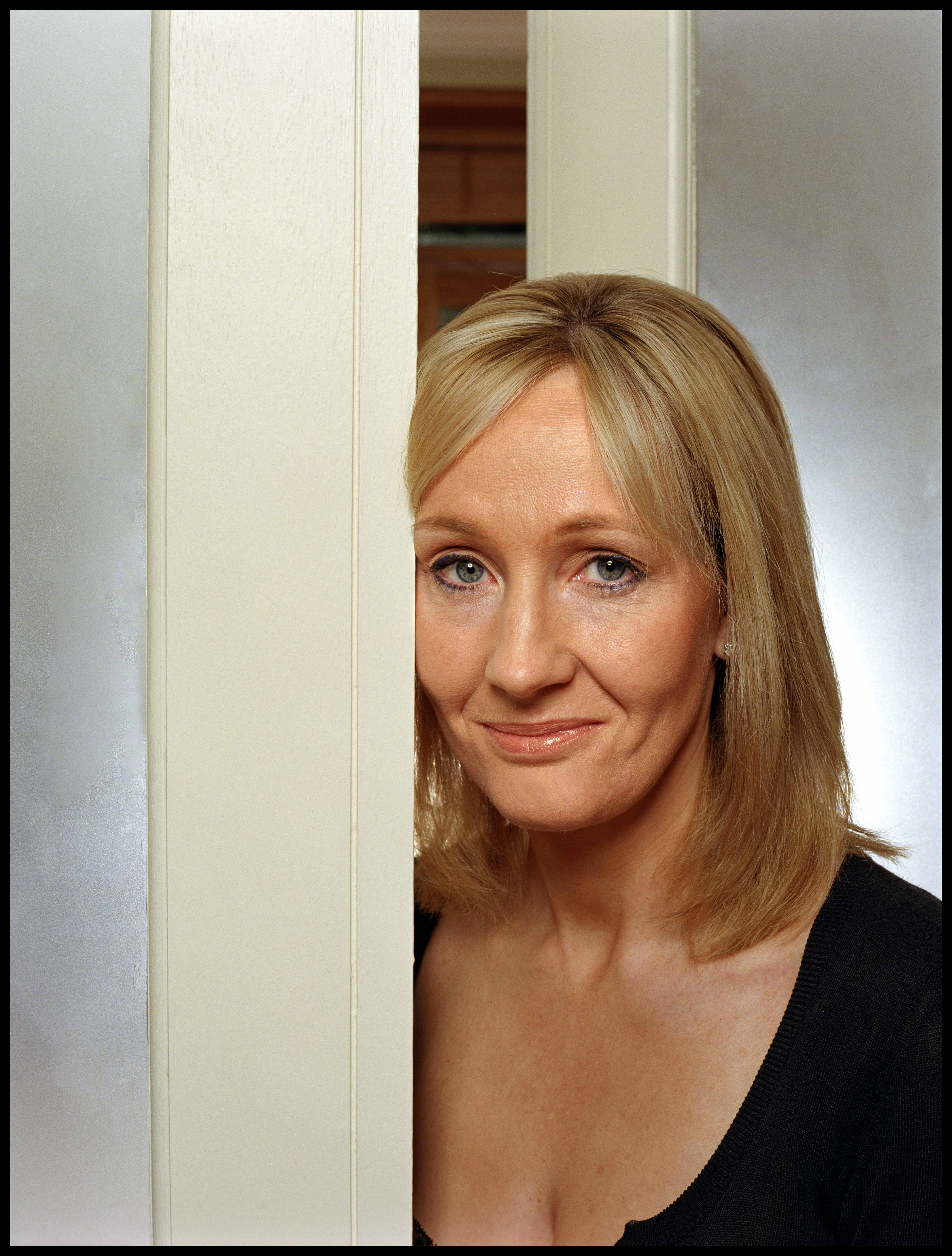 J.K. Rowling, thank you for making my life so much better with your genius, magical world of Harry Potter:)
