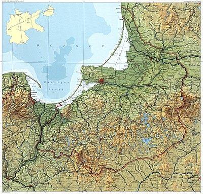 Karte Ostpreußen.Ostpreußen Landkarte Ostpreussen Ostpreußen Karte Preußen Und