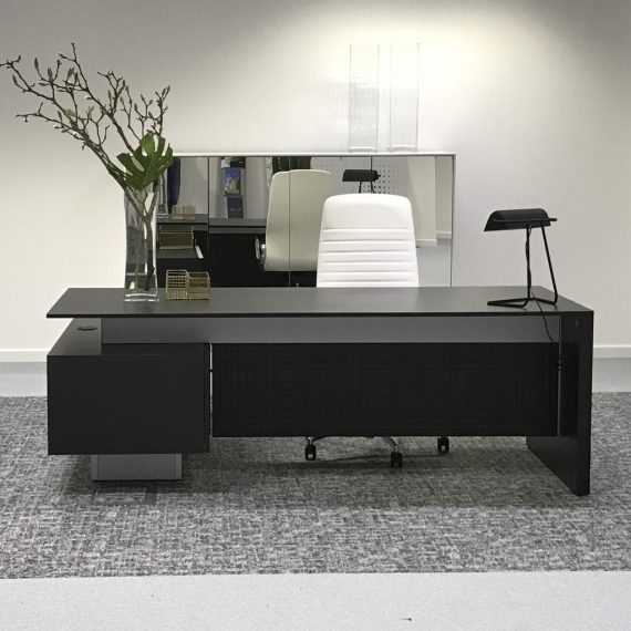 Modi Designer Executive Italian Desks And Home Office Desks Blackglassofficedesk Designer In 2020 Office Desk Designs Office Furniture Design Home Office Design
