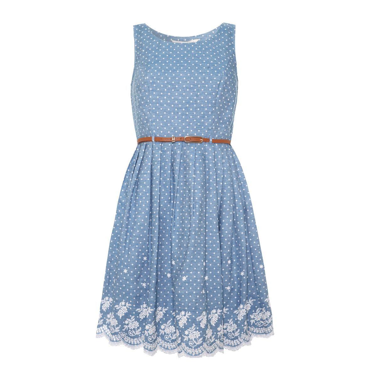 Robe yumi bleu