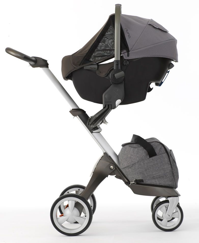 nuna pipa infant car seat with stokke xplory stroller xplory the ultimate connection. Black Bedroom Furniture Sets. Home Design Ideas