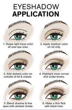 How To Apply Eye Shadow For Beginners Tutorials Eye Makeup