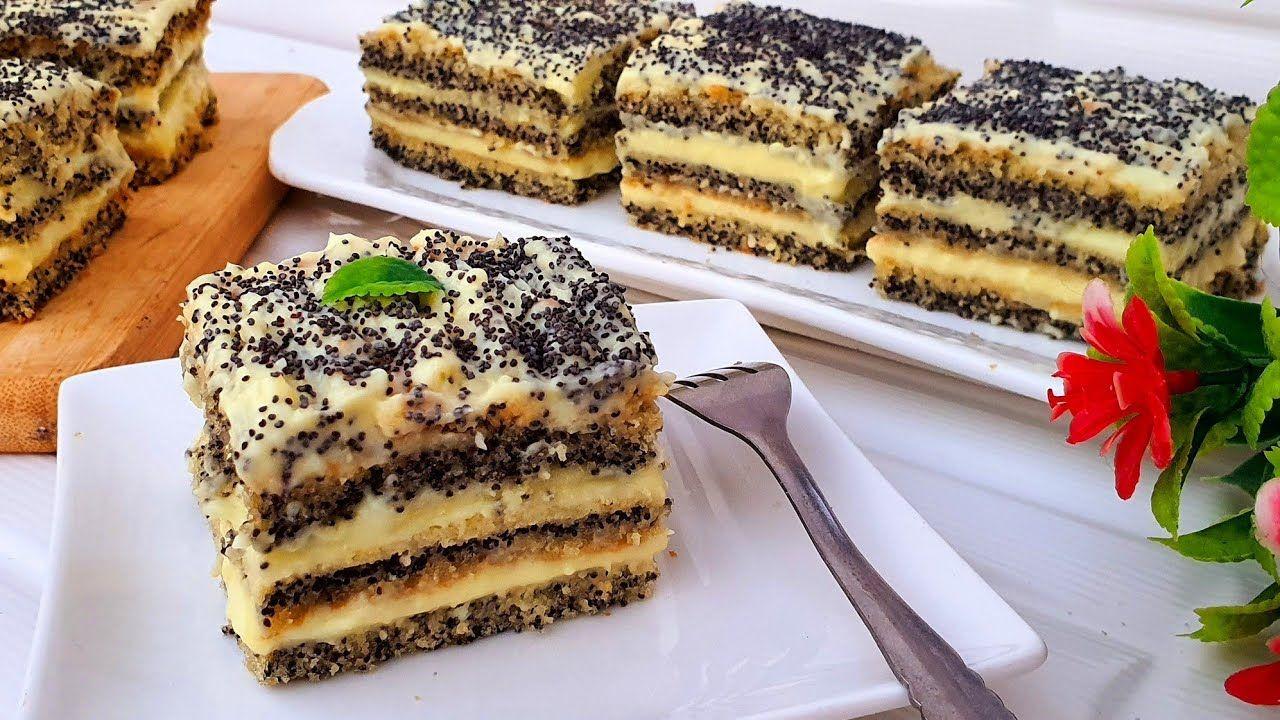ديما الجديد كيكة السبع ملاعق 3 طبقات بخليط واحد المعنى الحقيقي لتذوب ذوبان Mini Cakes Cooking Food