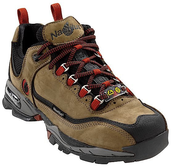 Nautilus Men/'s Moss ESD Athletic Work Shoes Steel Toe N1392