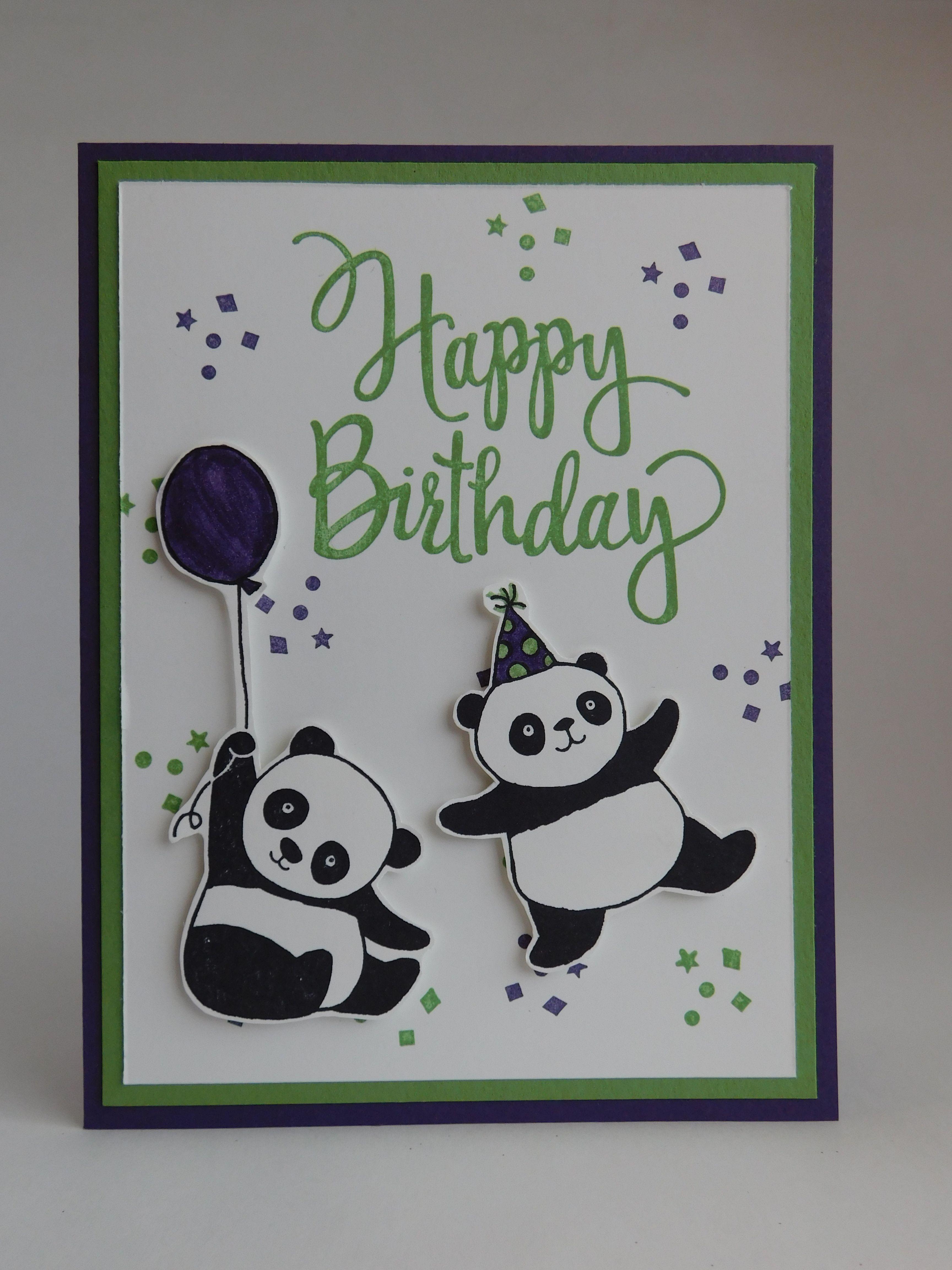 Birthday Card 2018 Supplies Used Elegant Eggplant And Wild