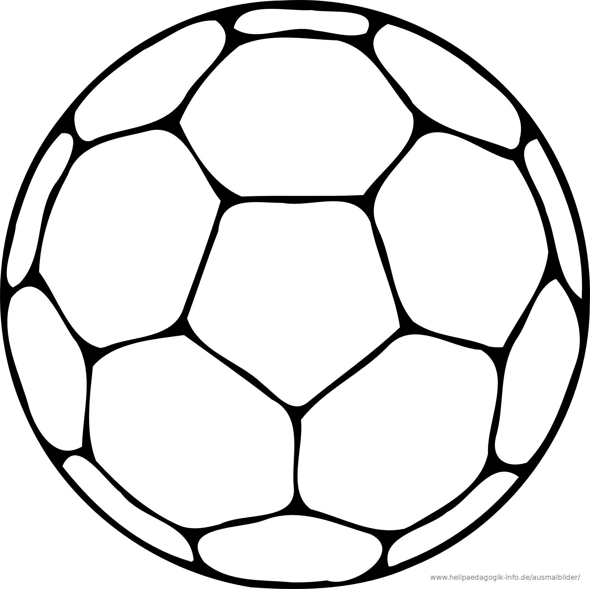 Fussball Malvorlagen Ausdrucken Warna