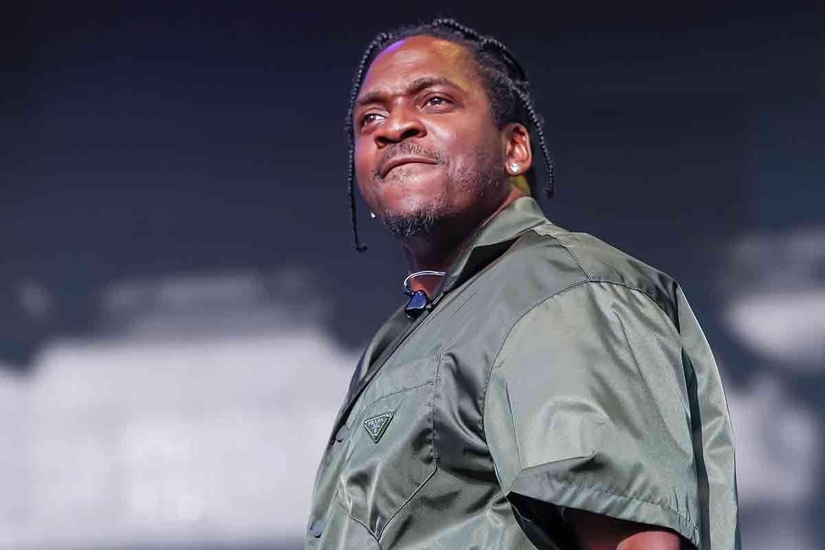 Pusha T Raps Baby Announcement Over Kanye West S Follow God