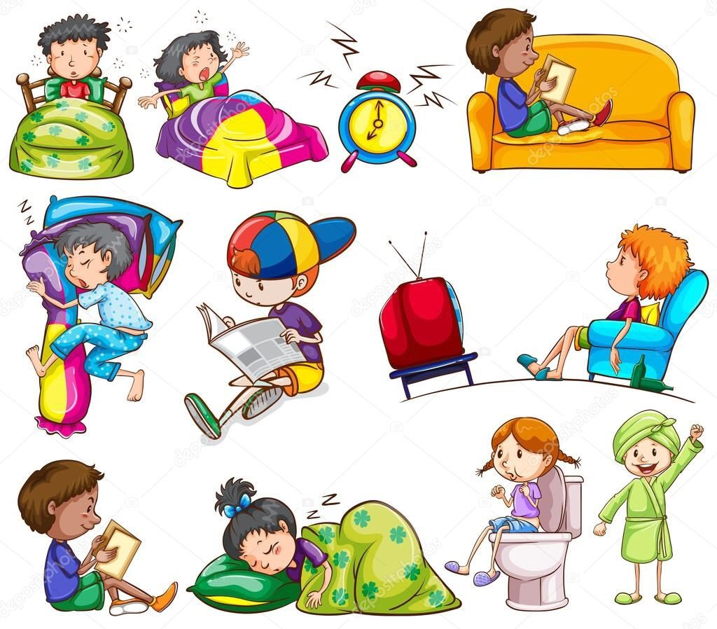Small Things 14 Ideal Routine By A Kid