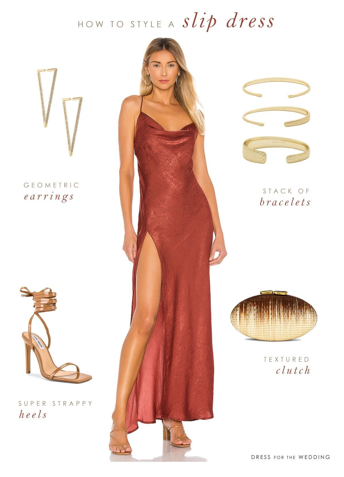 How To Style A Slip Dress Dress For The Wedding Red Wedding Dresses Satin Formal Dress Fall Formal Dresses [ 1664 x 1200 Pixel ]