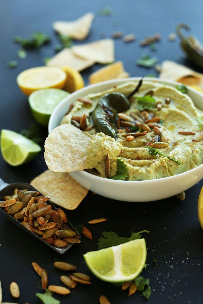Roasted Jalapeno Hummus - Minimalist Baker's Dana Has Revealed a Spicy New Hummus Recipe (GALLERY)