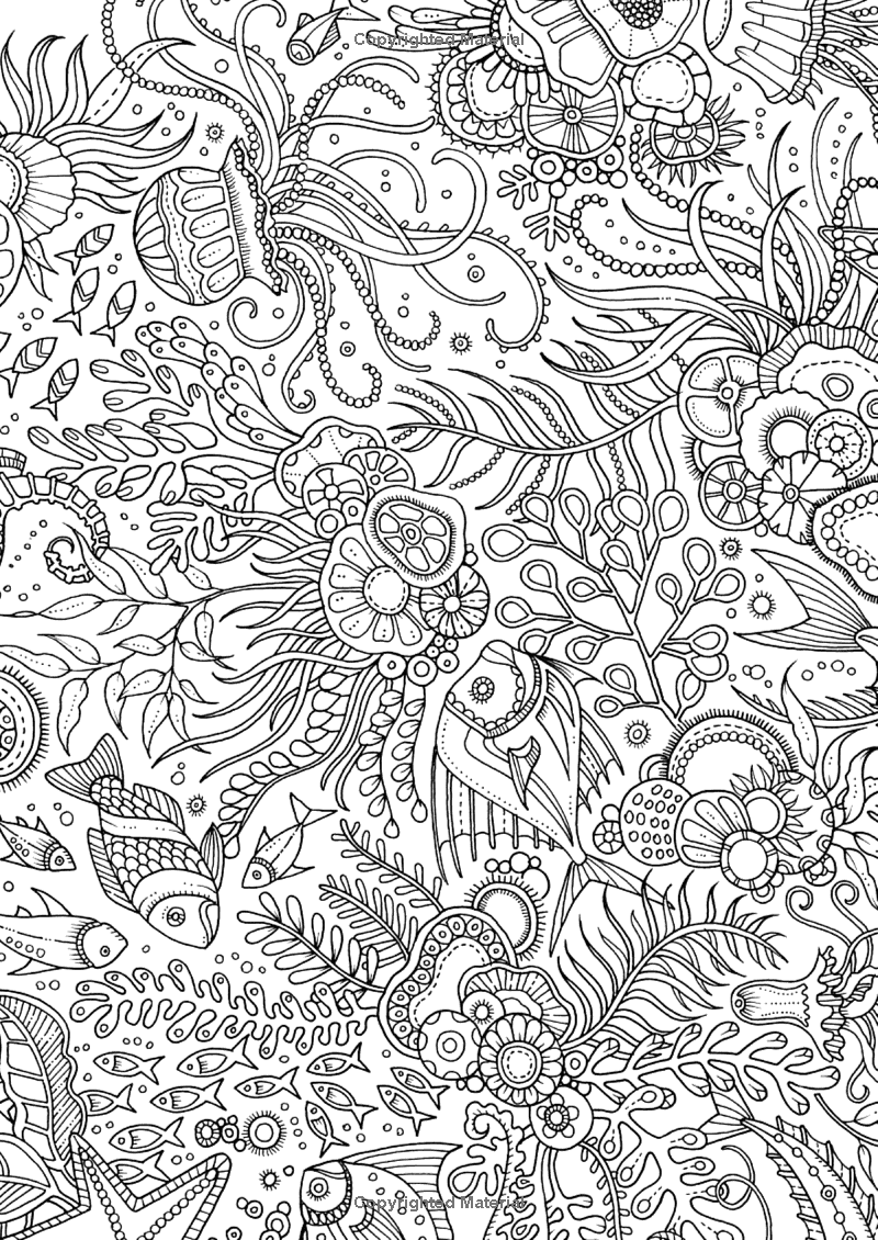 Lost Ocean 36 Postcards To Color And Send 9780143110217 Johanna Basford Johanna Basford Coloring Book Johanna Basford Coloring Coloring Pages