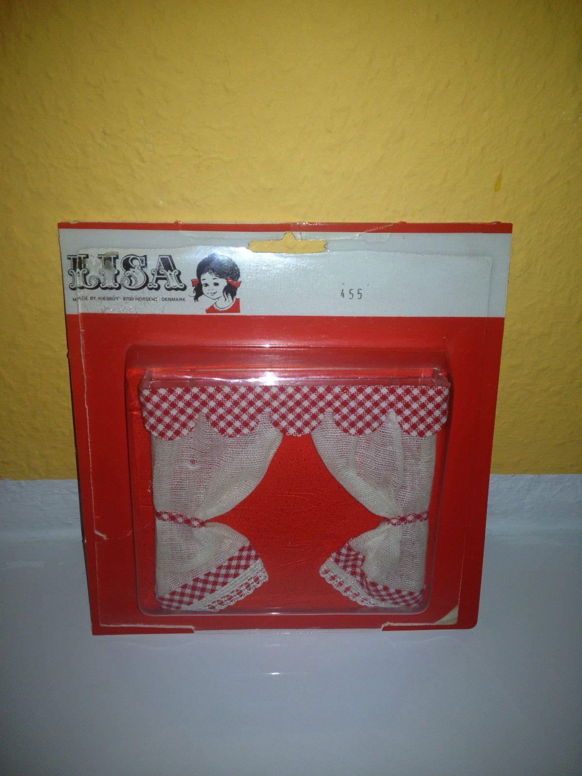 LISA Vintage Doll House Art. 455 1:12 Puppenhaus Gardinen Vorhang 70 Jahre OVP in Spielzeug, Puppenstuben & -häuser, Gardinen | eBay