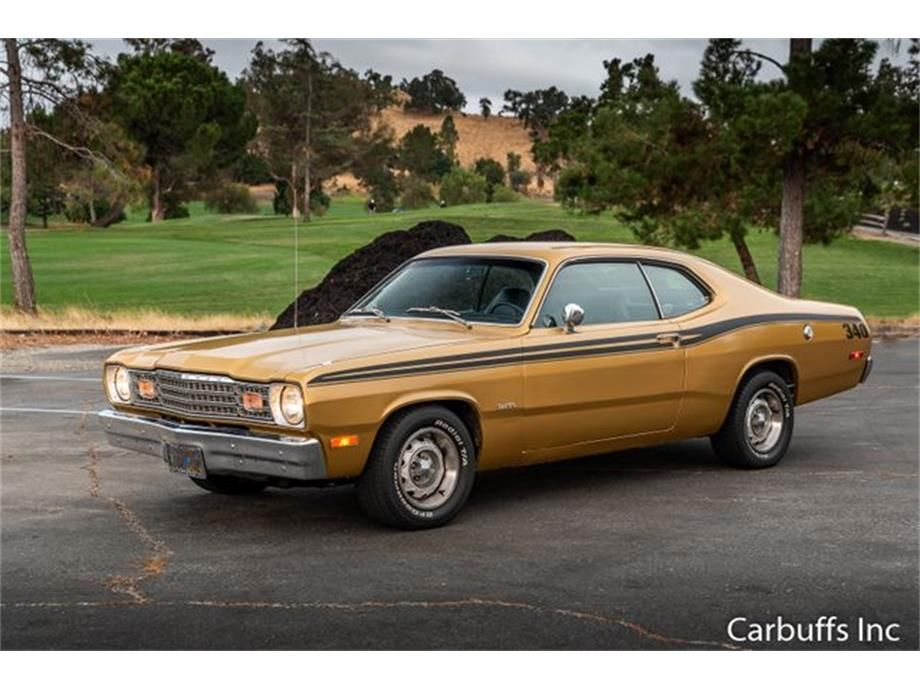 Large Photo Of 73 Duster Odde Plymouth Duster Plymouth