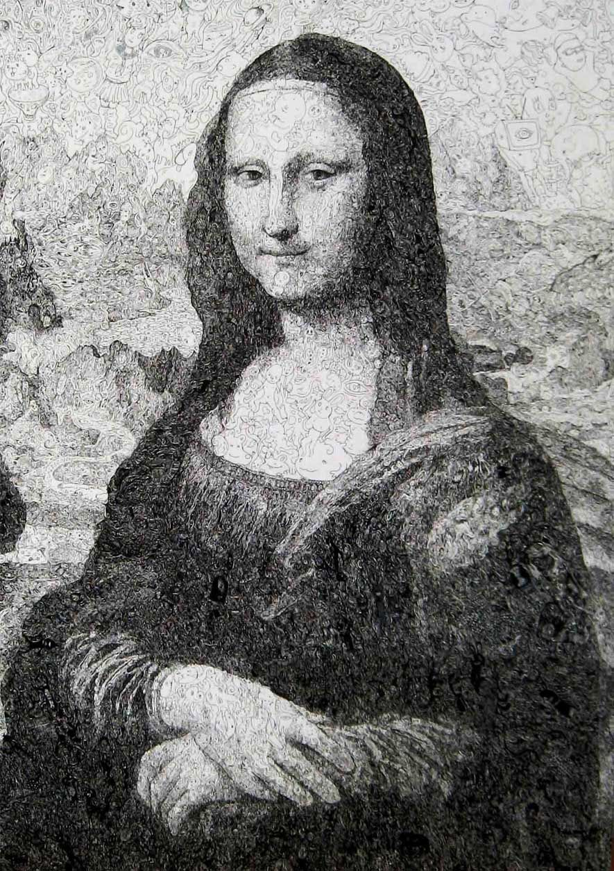 Famous Drawings Artists Article Delana