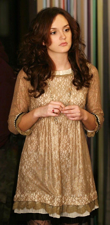 Blair Waldorf Thanksgiving outfit
