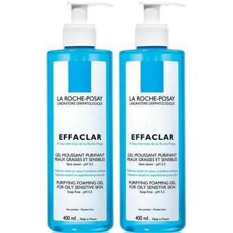 La Roche Posay Effaclar Gel Moussant Purifiant Duo 400ml