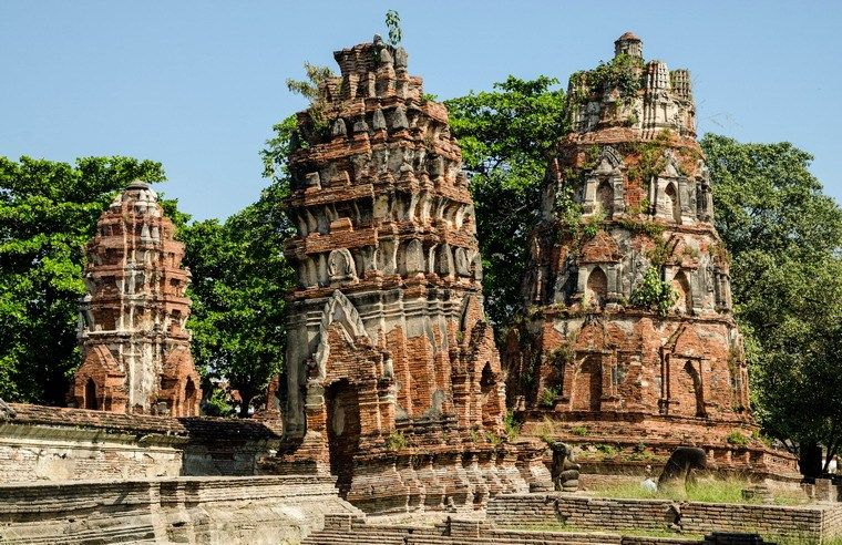 ancient structures in My Son Sanctuary in Quang Nam