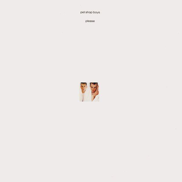 Fantastic Minimal Cover Artwork For Pet Shop Boys Please 1986