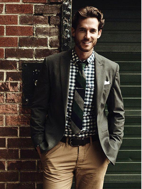 Sequins & Stripes: Manly Men