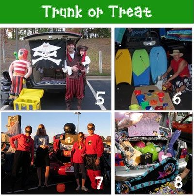 Trunk or Treat ideas Halloween Pinterest Holidays halloween - halloween decorated cars