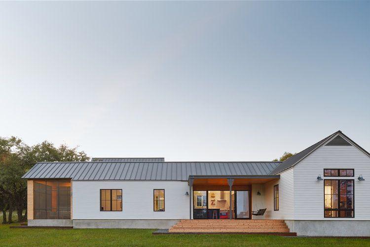 Low Prairie Scandinavian Farmhouse Tim Brown Architecture Modern Ranch Ranch Style Homes House Design Photos