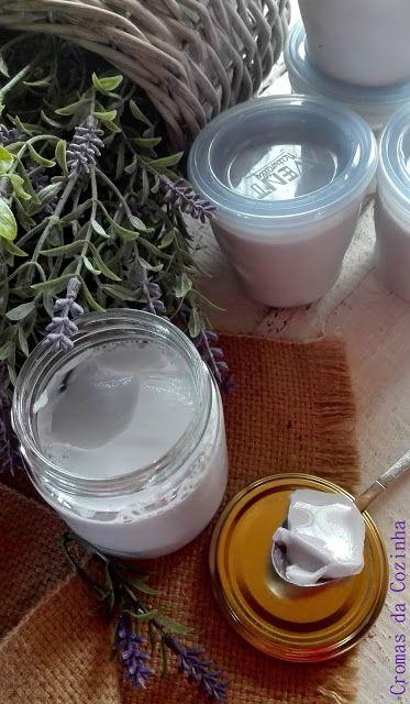 cromas da cozinha: Iogurtes de Gelatina