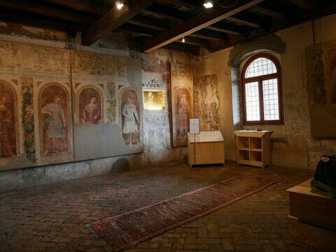 Camera da letto di Bartolomeo Colleoni (castello di ...