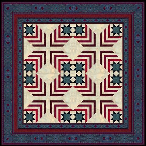 free pattern= > Fourth of July Star quilt by Jinny Beyer | Red ... : fourth of july quilt pattern - Adamdwight.com