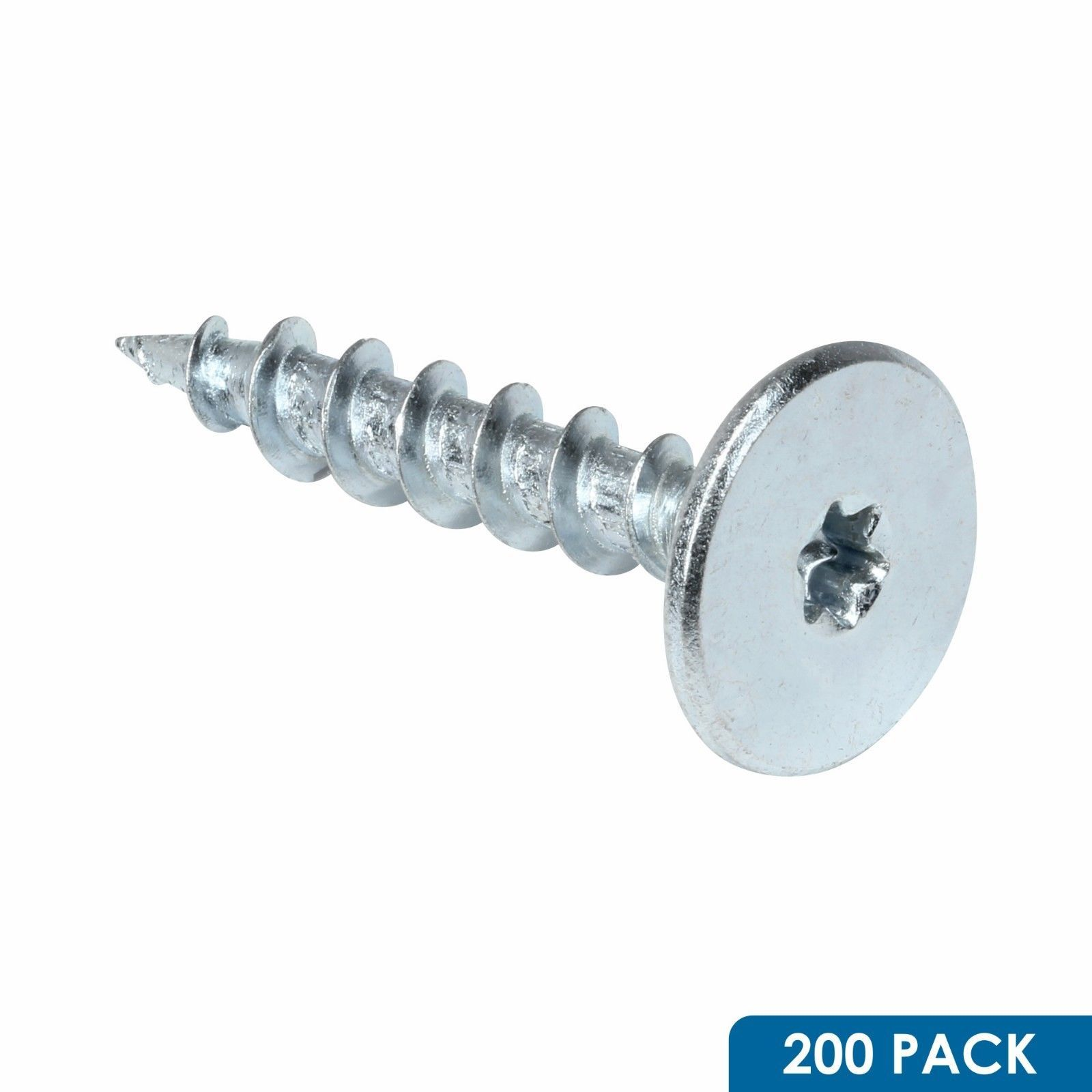 Powerhead Screws For Wood 200 Pcs Fastcap T20020 1 1 434 Uses T20 Torx Drive Bits Type 17 Point Tip Easily Self Drills Into Studs Ebay Screws Diy Shelves