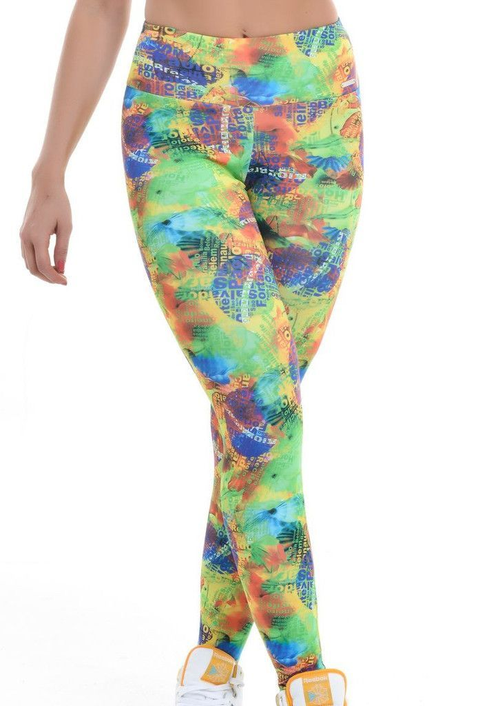 767d029a4421f These leggings have a multi colored with music writing pattern. These  leggings are made of AMNI®, a technological and super light fabric that  provides ...