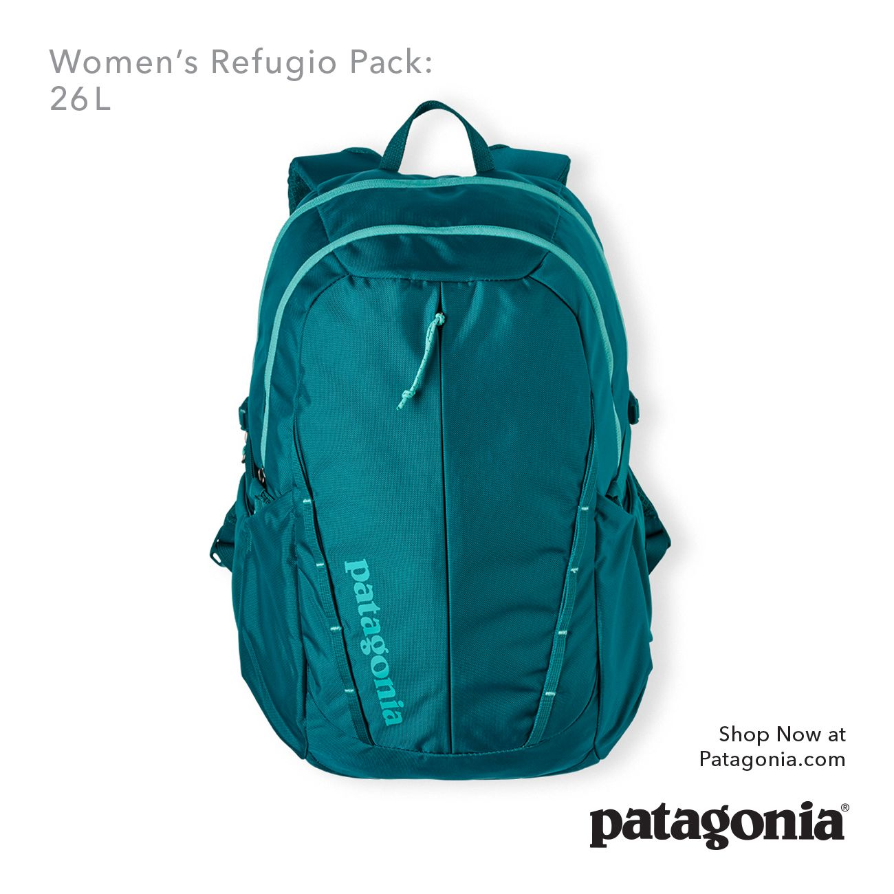 0677c35e4e The Women s Refugio Pack  26L. Custom tailored for a woman s torso ...