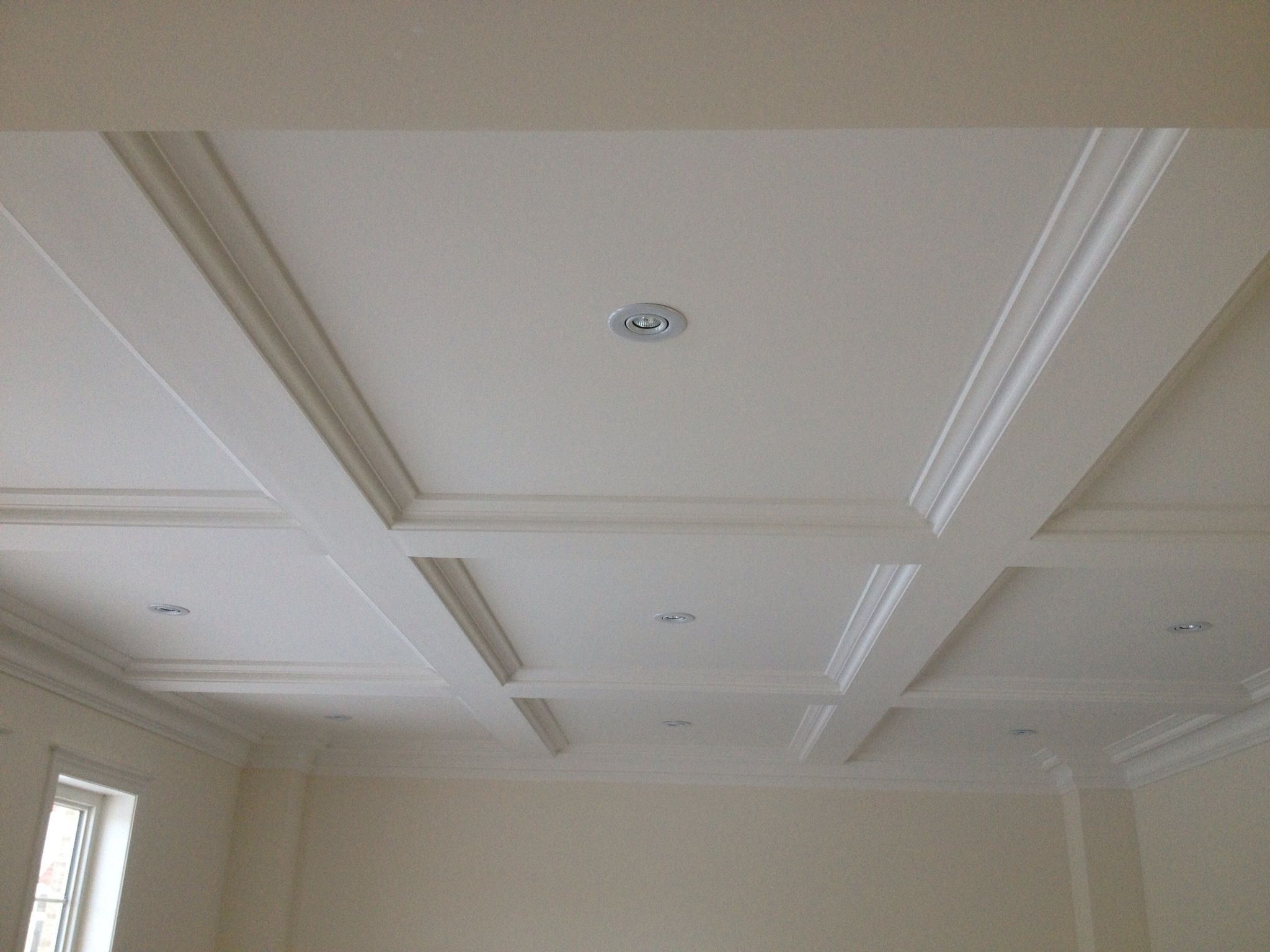 Simple Square Coffered Ceiling Google Search Coffered Ceiling
