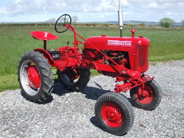 Antique Ih Cub Tractor : International cub tractors previously supplied