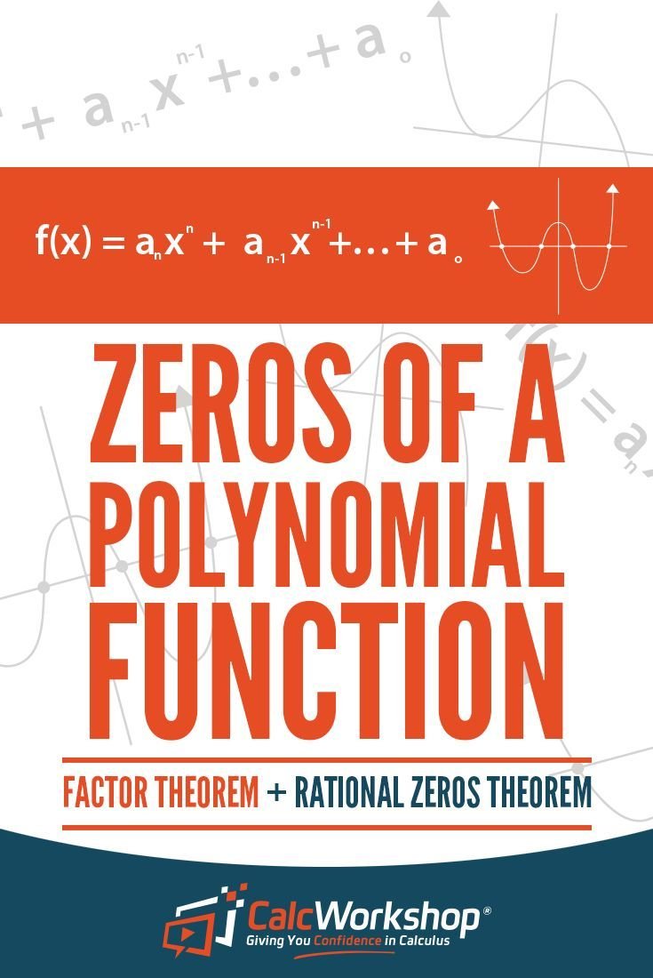 Rational Zero Theorem Explained W 12 Surefire Examples Polynomials Polynomial Functions Math Methods [ 1100 x 735 Pixel ]