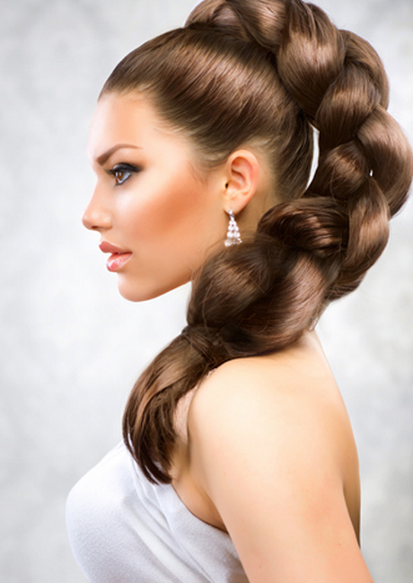 Alternatively wrap some wefted hair extensions around the base of your ponytail…