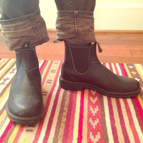 5774e89959c Blundstone original 500 Boots Black leather Blundstone original 500 ...