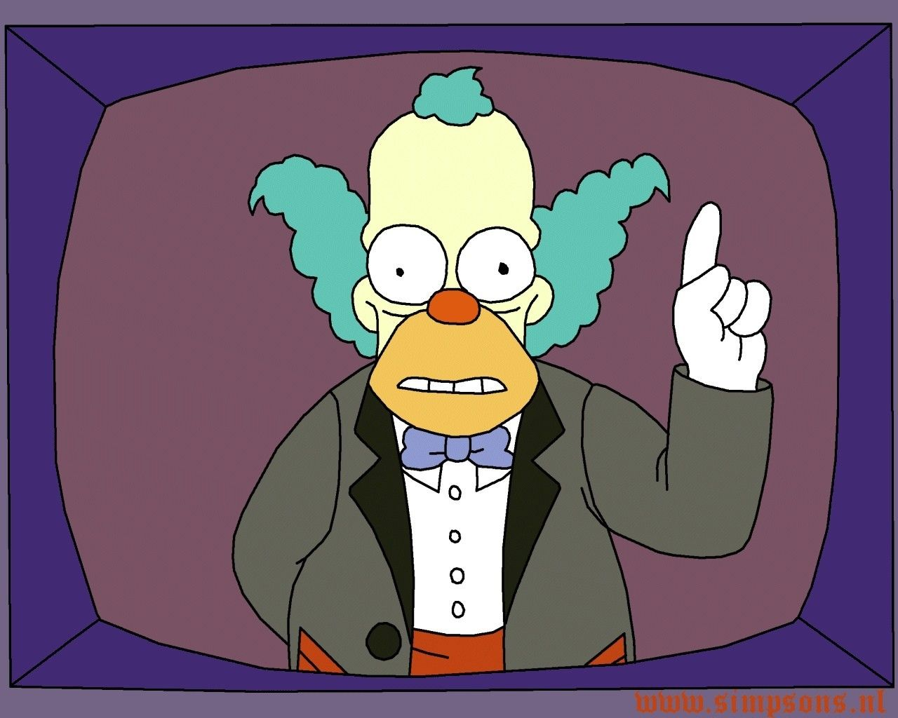 Krusty the clown simpsons wallpapers pinterest - Clown simpson ...