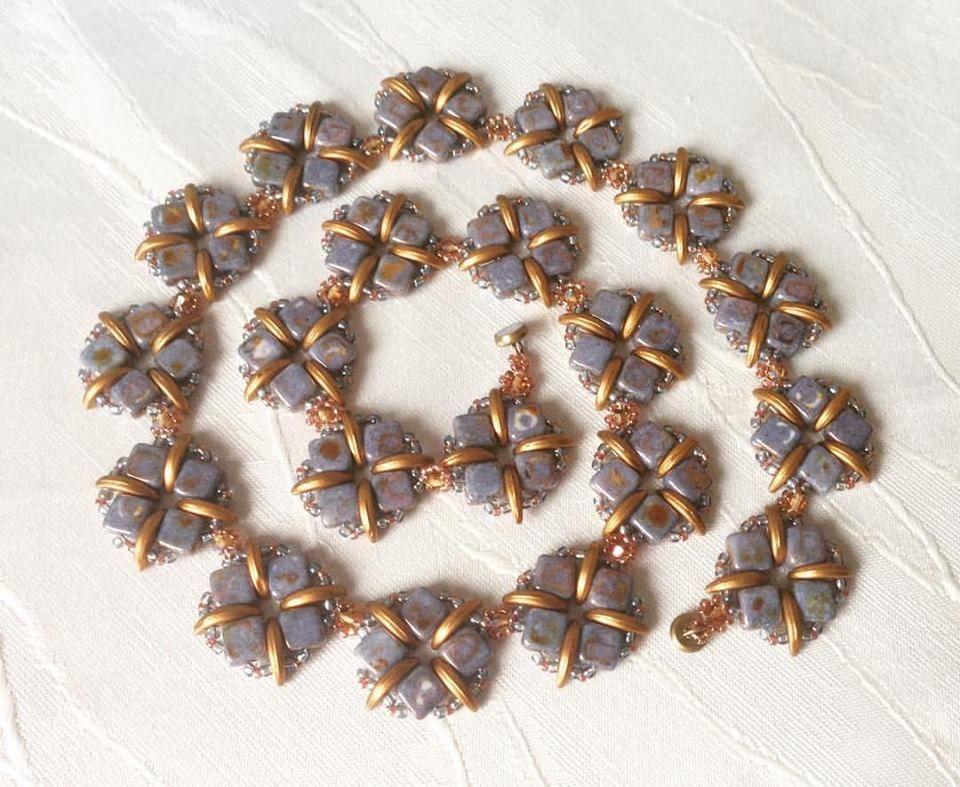 """Perlen Harmony Oase: Halskette """"Silke"""""""