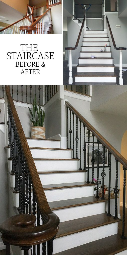 How to Update an Oak Staircase With images   Staircase ...