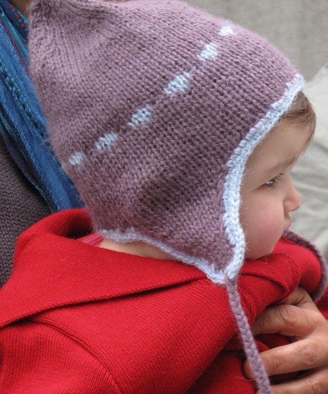 patron tricot bonnet peruvien gratuit   Tricot et crochet   Baby ... f06b73df105