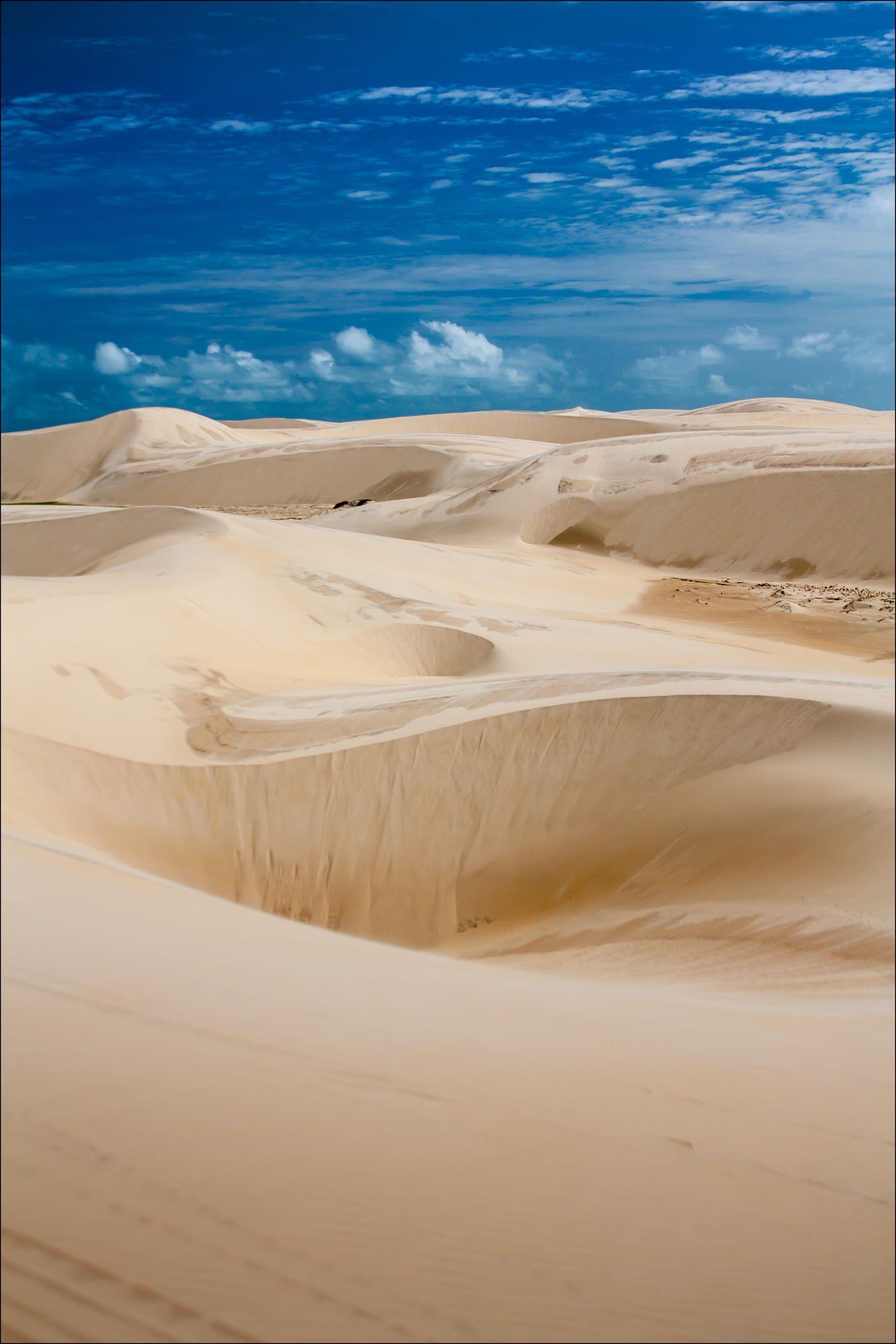 Sandy Landscape - Lencois Maranhenses, Maranhao, Brazil