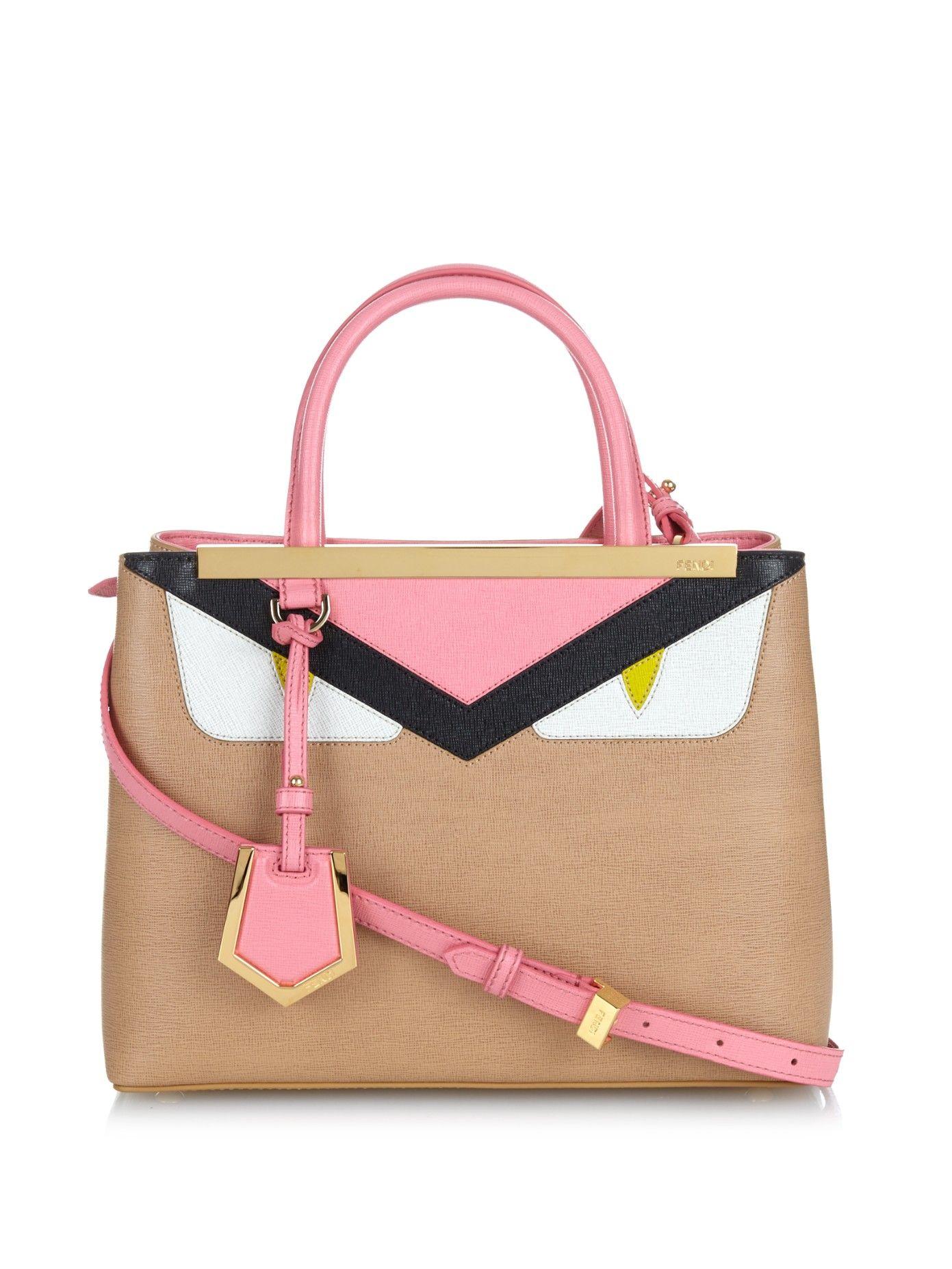 8a1462e6e8 Petite 2Jours Bag Bugs leather cross-body bag by Fendi