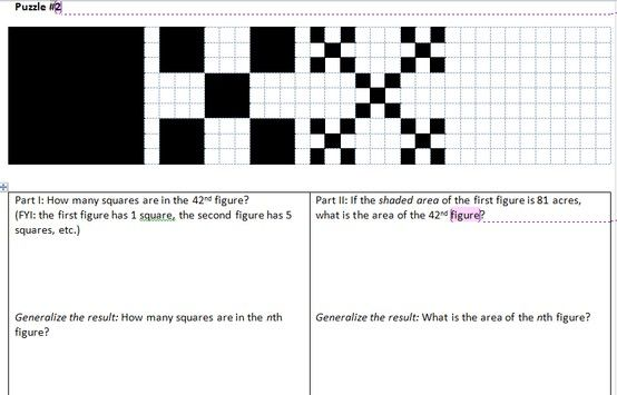 Sam Shah's packet of guided worksheets for sequences and series
