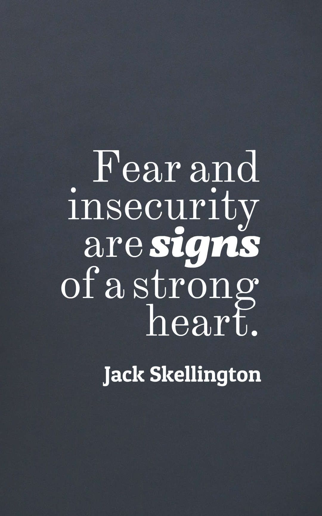 Insecurity signs
