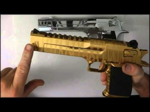 Pin By Rae Industries On Cool Stuff Desert Eagle Gold Chrome