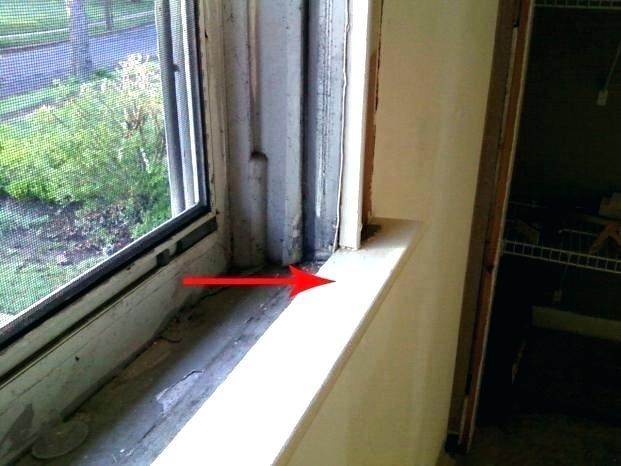 Exterior Window Sill Replacing A Window Sill Replacing A Window Sill Exterior Wi Exterior Replacing Sill In 2020 Exterior Window Sill Windows Exterior Window Sill