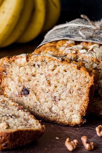Bananenbrot ist die gesunde Alternative zu Kuchen: Hier das beste Rezept #bananabread