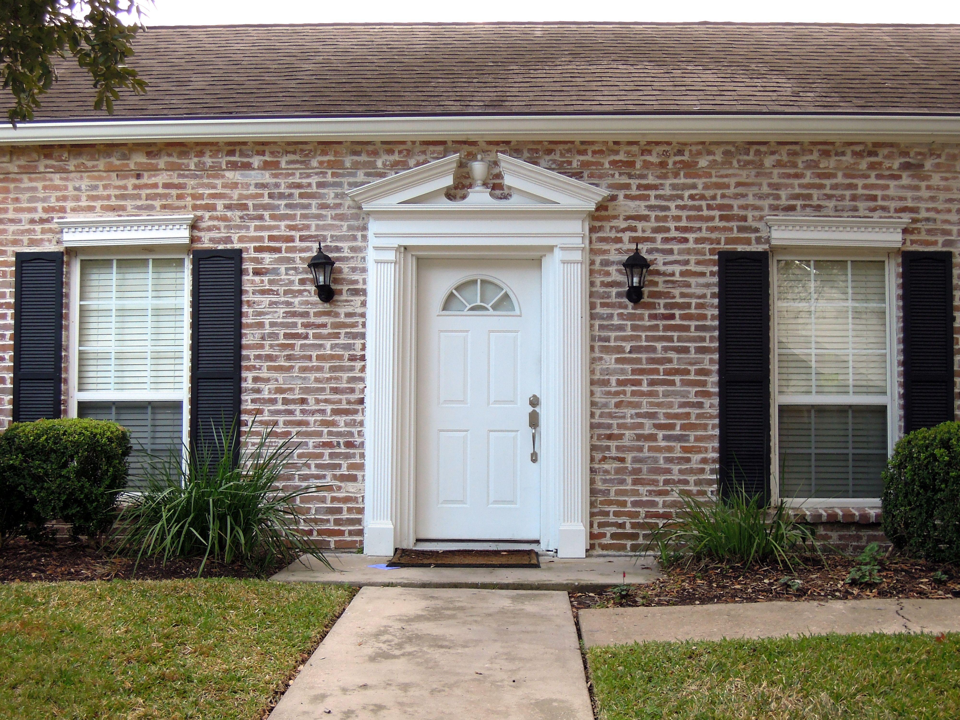 Vickers Door Jpg 4000 3000 Red Brick House White Wash Brick