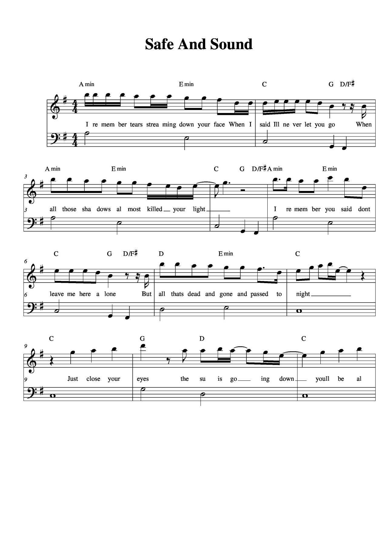 Piano sheet music safe and sound taylor swift download the pdf piano sheet music safe and sound taylor swift download the pdf hexwebz Choice Image