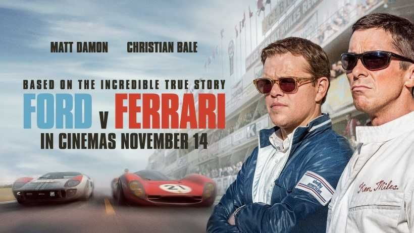 Review Ford V Ferrari Wins First Place In 4dx Hollywood Movies 2019 Latest Hollywood Movies Movies 2019